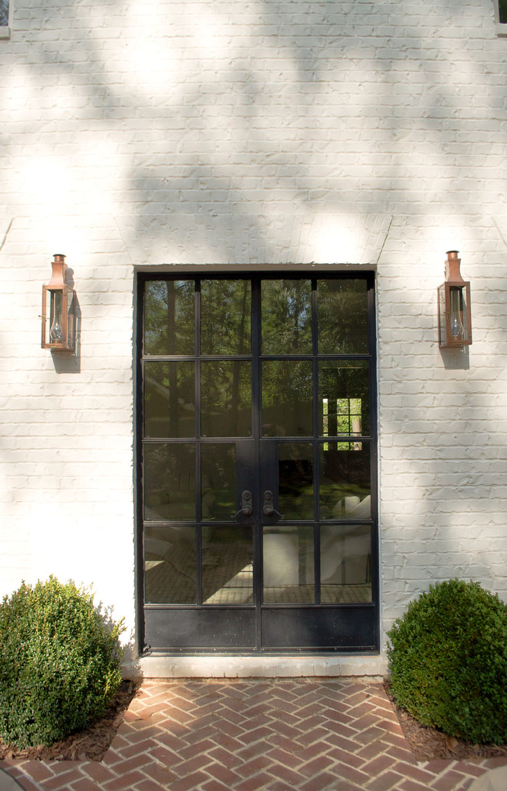 You too can have it all romabio for White french doors exterior