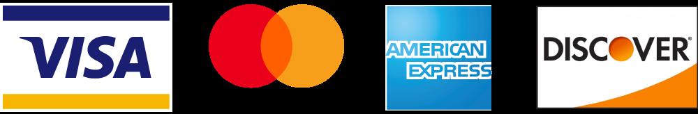 Visa MasterCard American Epress Discovery